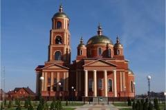 Храм в честь Церковь Новомучеников и исповедников Белгородских. г. Строитель